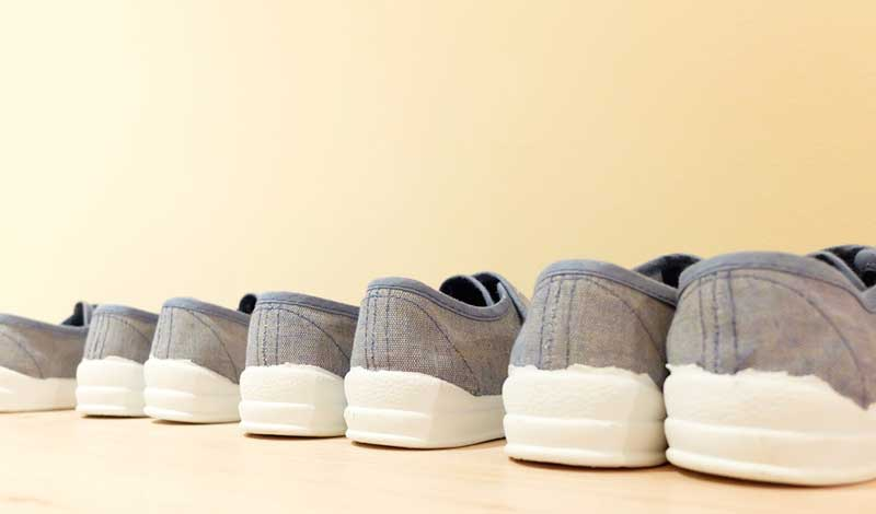 calzado infantil Montessori