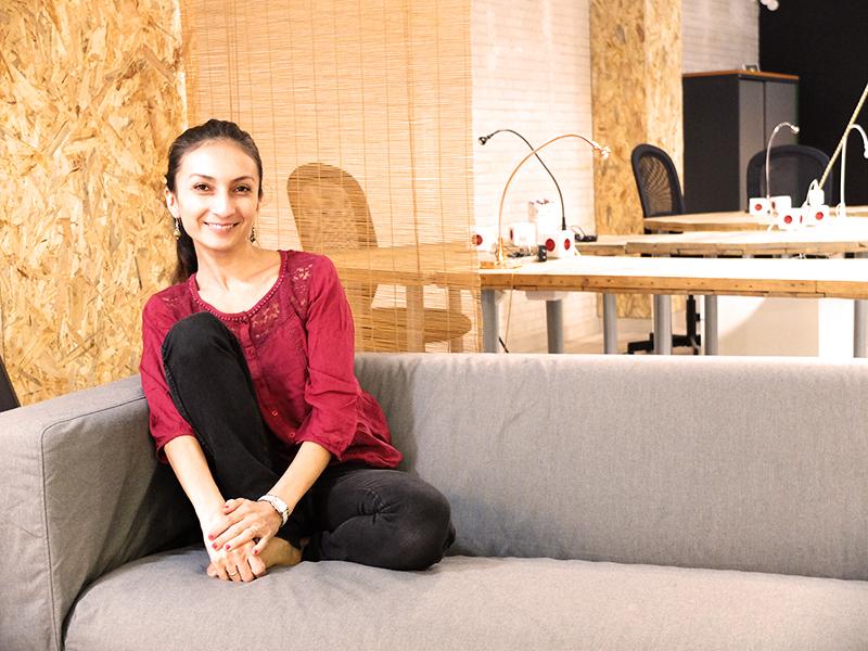 Pamela Cepeda directora Cofamily Coworking Granada