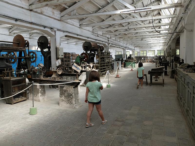 Interior Museo Reales Fábricas del bronce