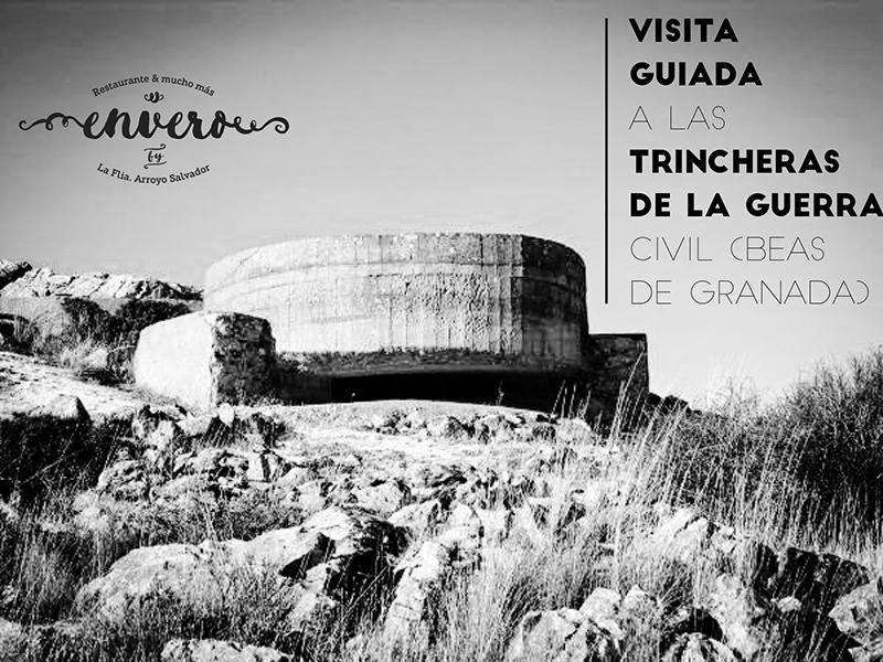 visita guiada a las trincheras de la guerra civil Envero Beas de Granada