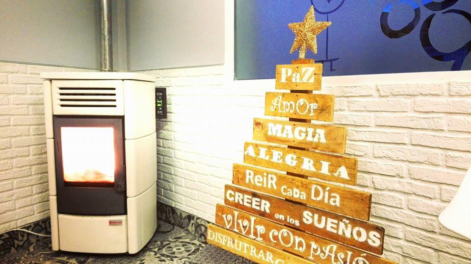 árbol de Navidad Restaurante Envero