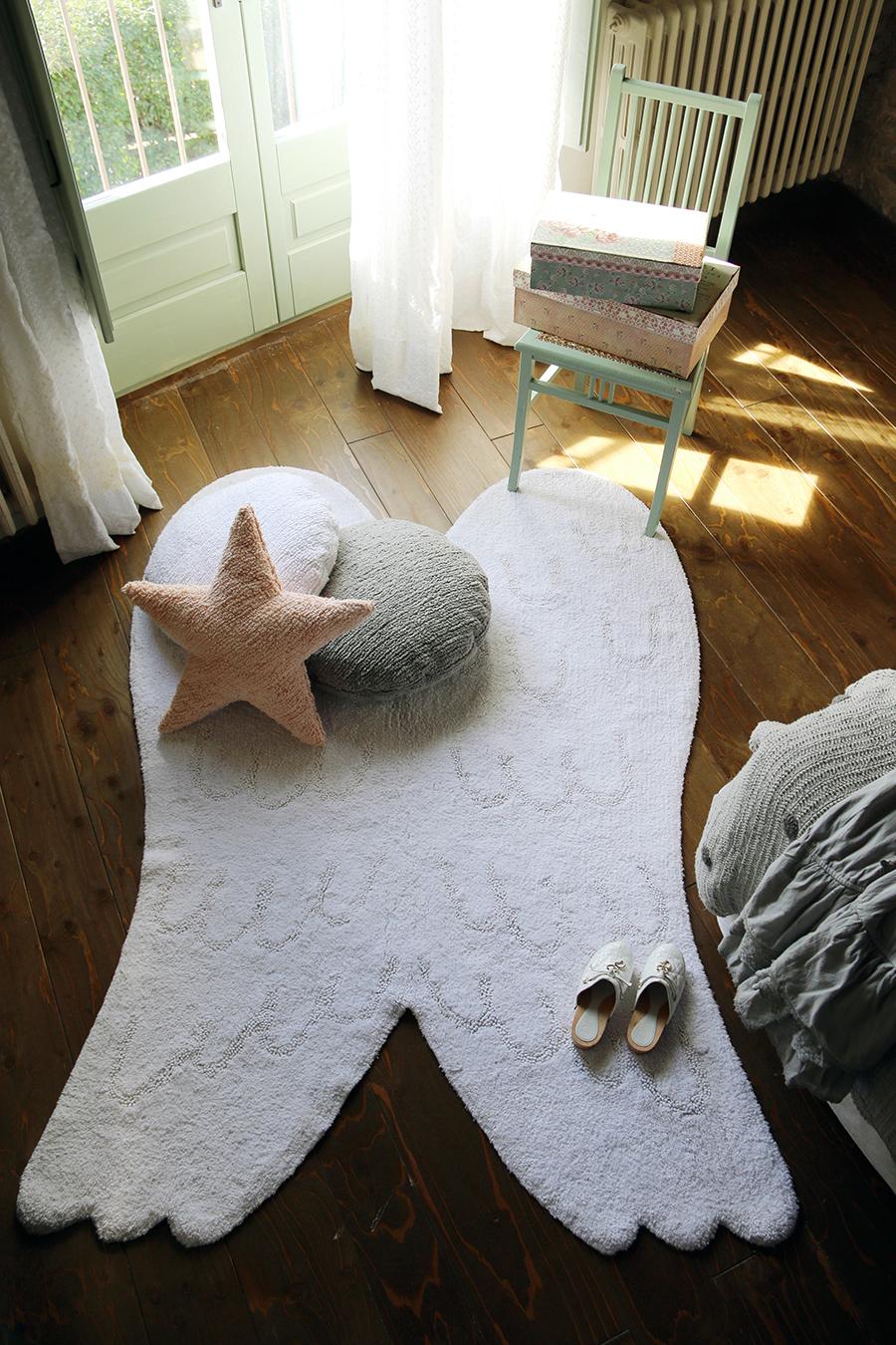 alfombra alas ángel Lorena Canals
