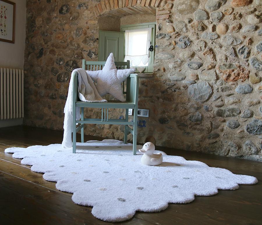 alfombra galleta lorena Canals