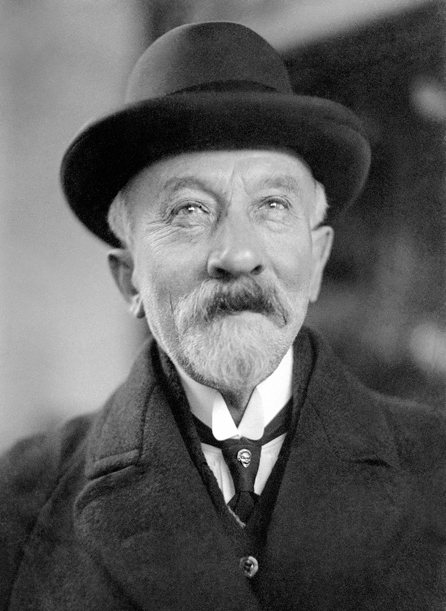 retrato de Méliès