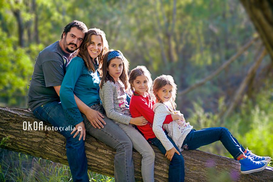 fotografía de familias en Granada