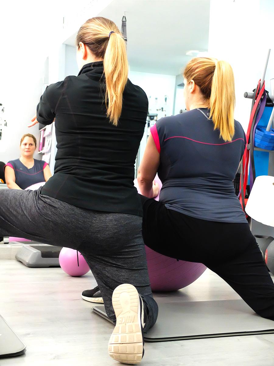ejercicios de gimnasia para embarazadas en Granada