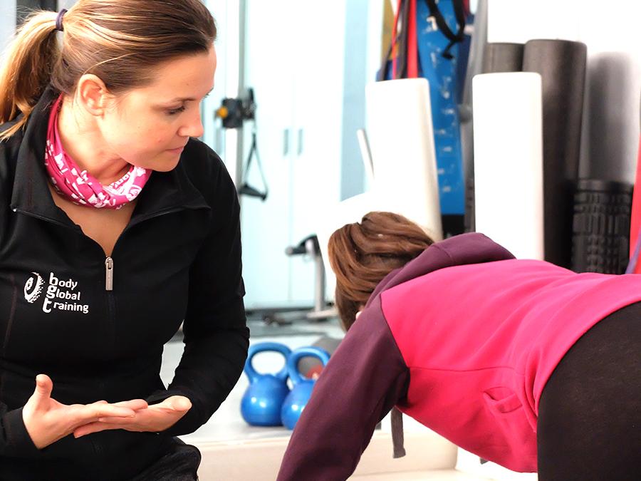 trabajo gimnasia posparto Body Global Training