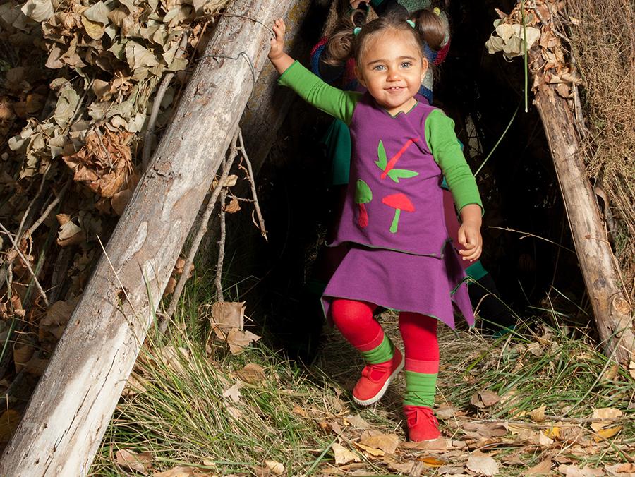 ropa ecológica para peques