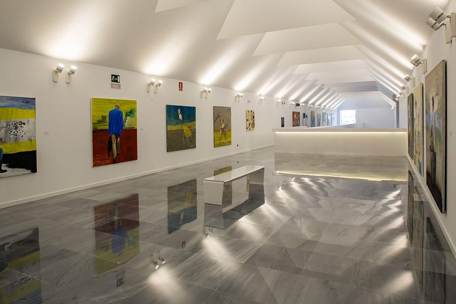 sala de exposiciones Cuarto Real de Santo Domingo