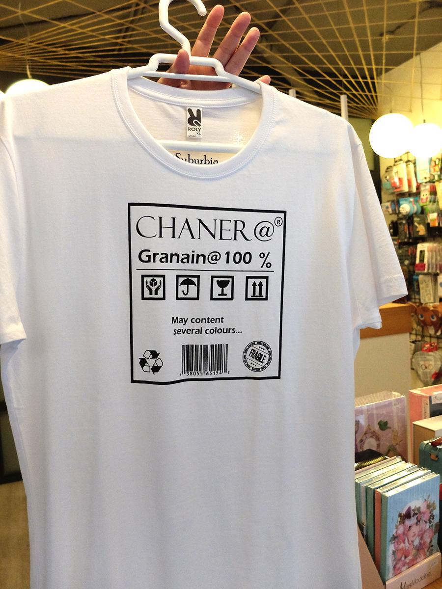 camiseta chanero