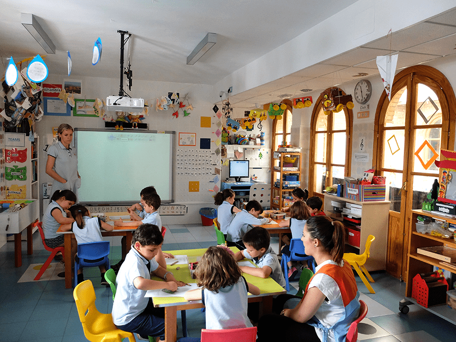 trabajo por proyectos escuela infantil granada