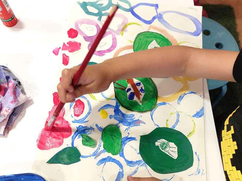 pequeños artistas