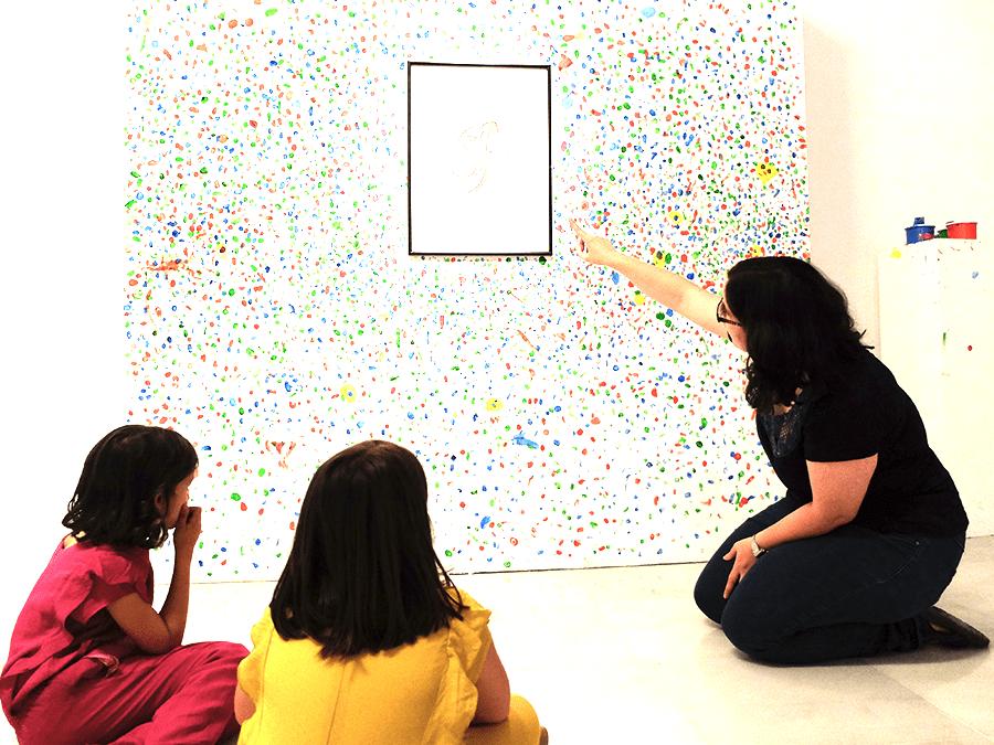 visita exposición Arte para aprender