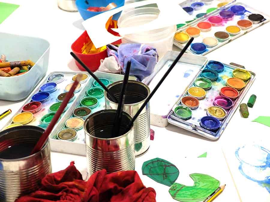 materiales taller exploradores del arte