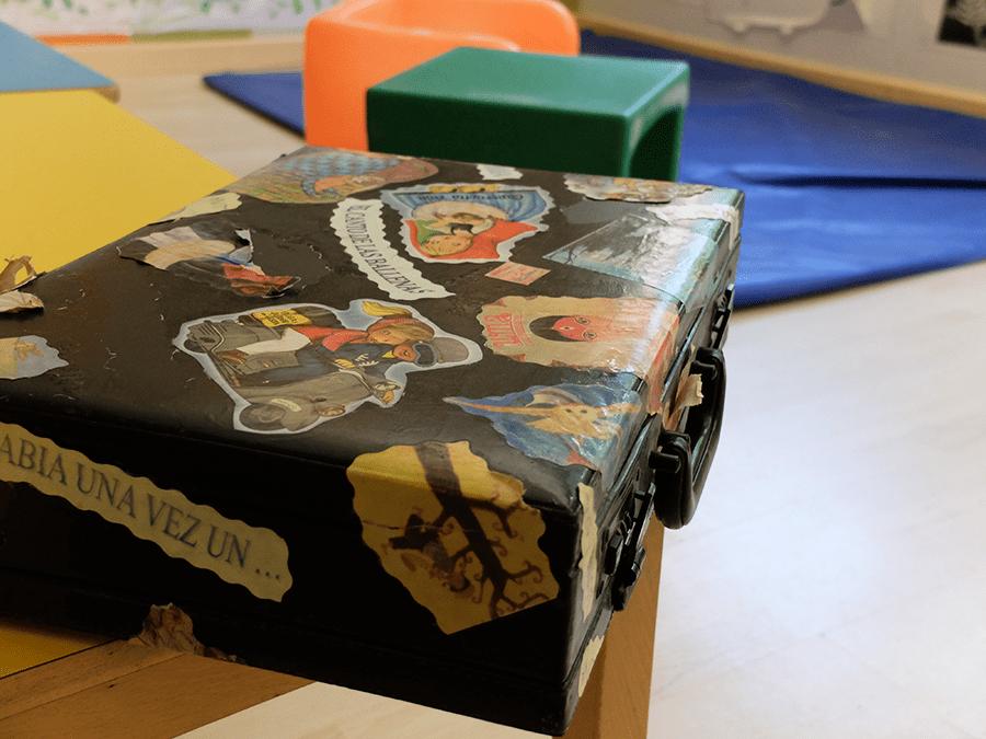 animación a la lectura en escuela infantil en Granada