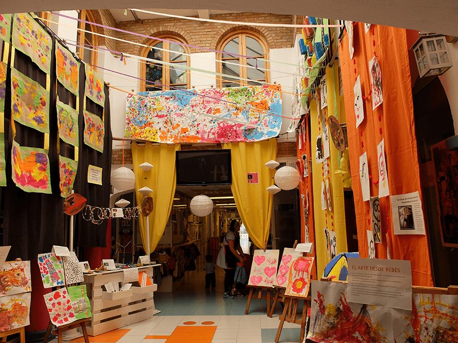 patio interior centro infantil patosuca
