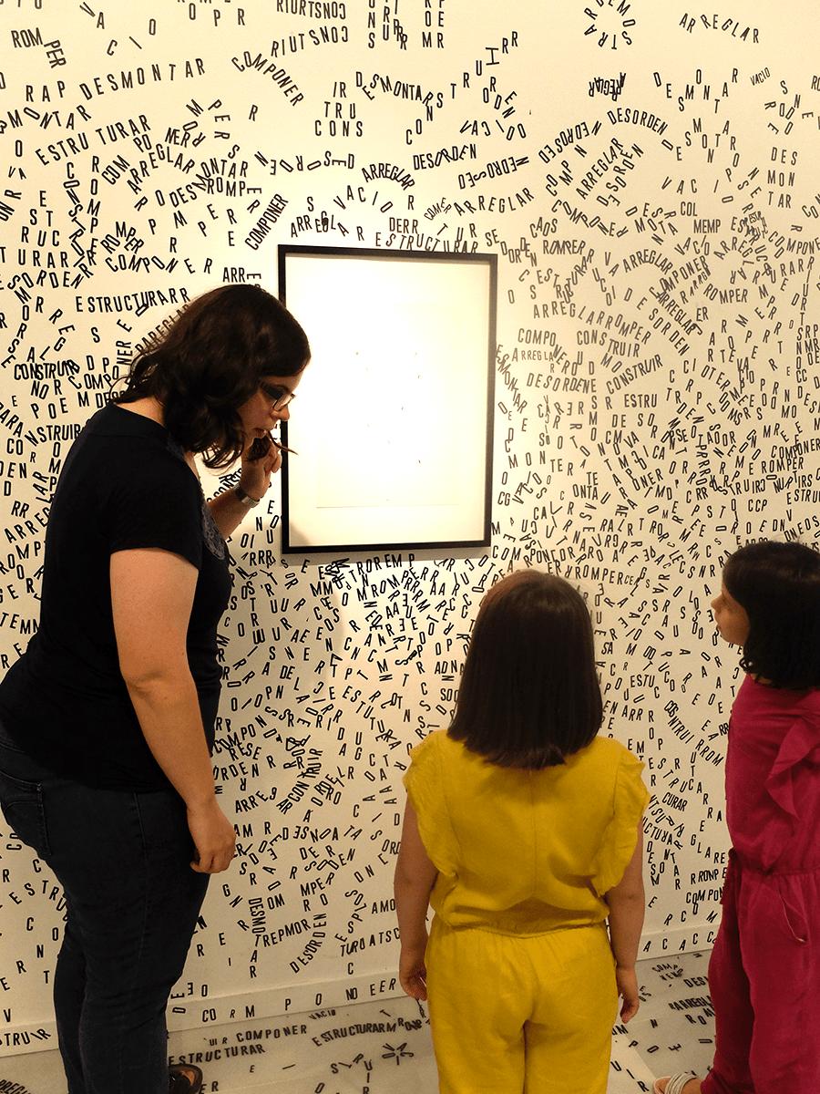 guía de museo Arte para aprender