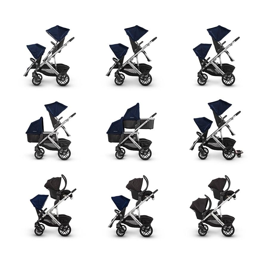 carro de bebé para dos hermanos