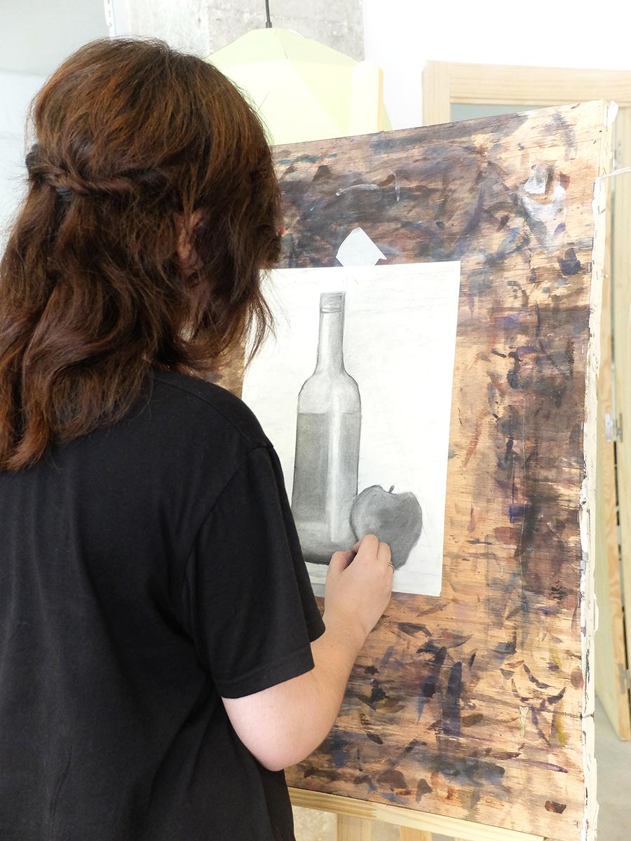 aprender a dibujar en Granada