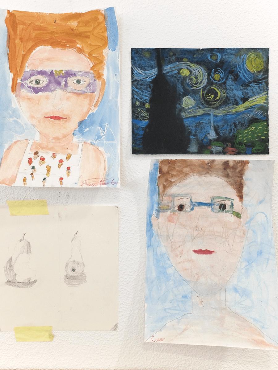 pequeños artistas Granada
