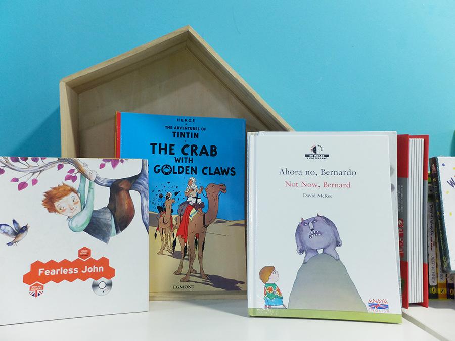 libros en inglés Granada