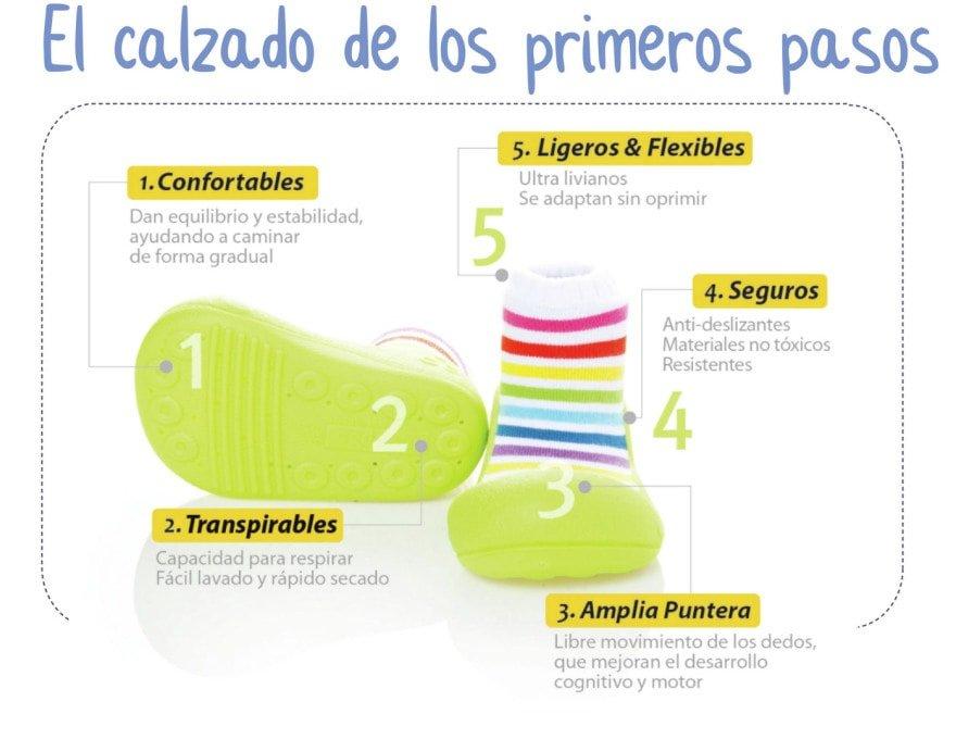 caracteristicas zapato aprendizaje