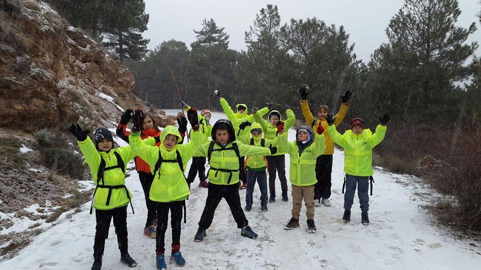 aventura en la montaña niños Granada
