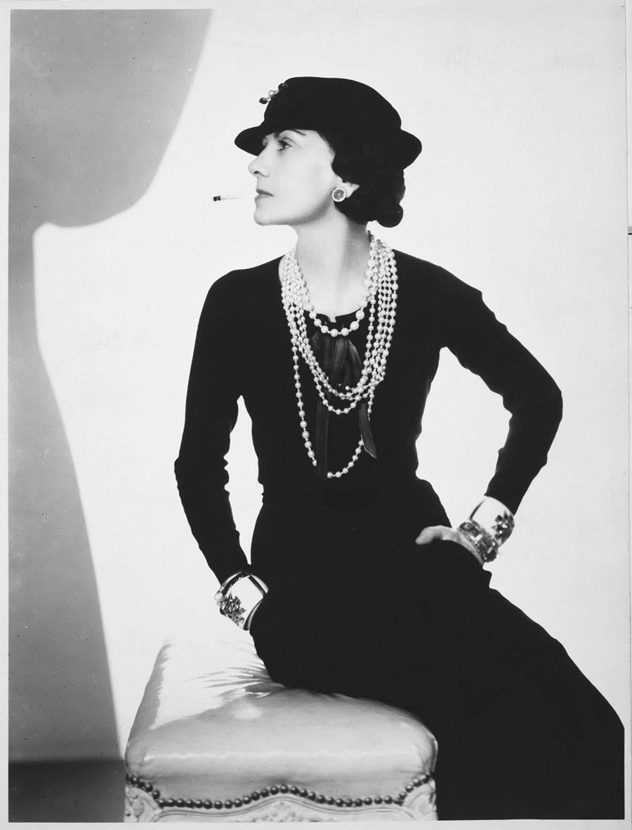 Coco Chanel por Man Ray