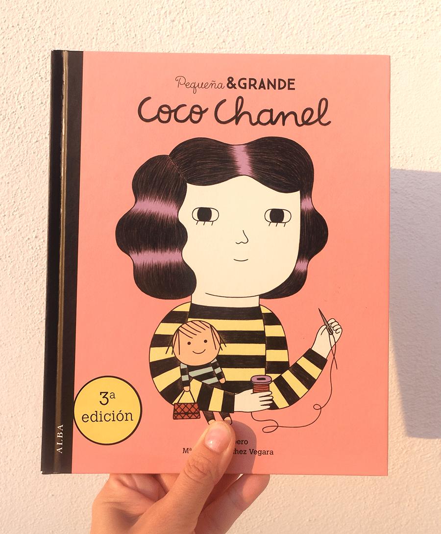 pequeña y grande Coco Chanel