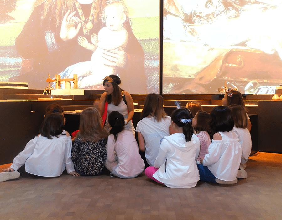 cumpleaños en el museo Cajagranada