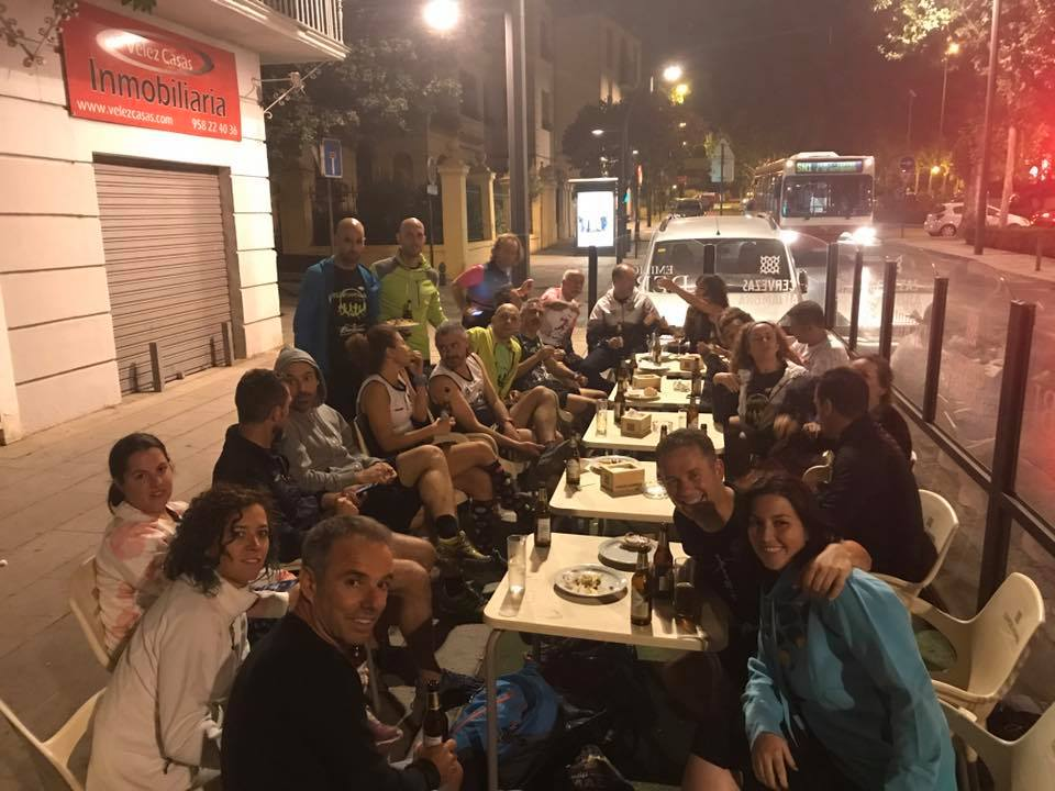 cervecita post running Club Bicha