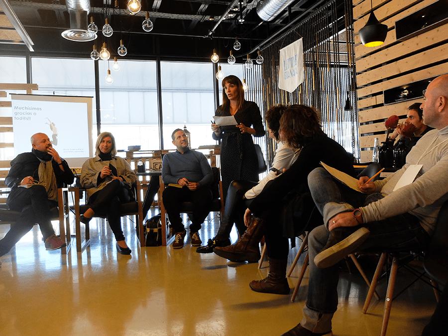 mesa redonda de periodistas