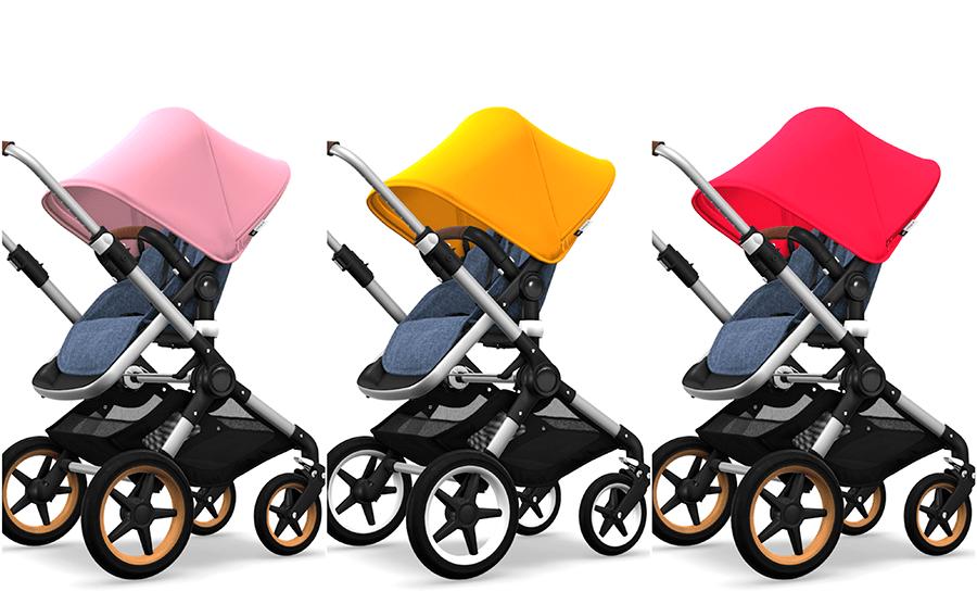 silla carrito bebé Bugaboo Fox