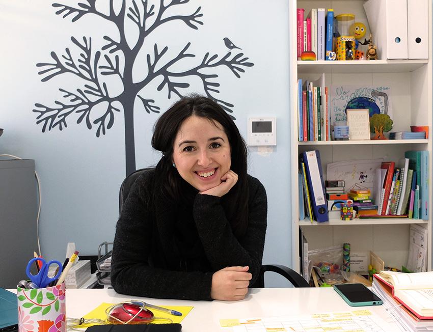 Cristina Cano psicologa infantil Granada