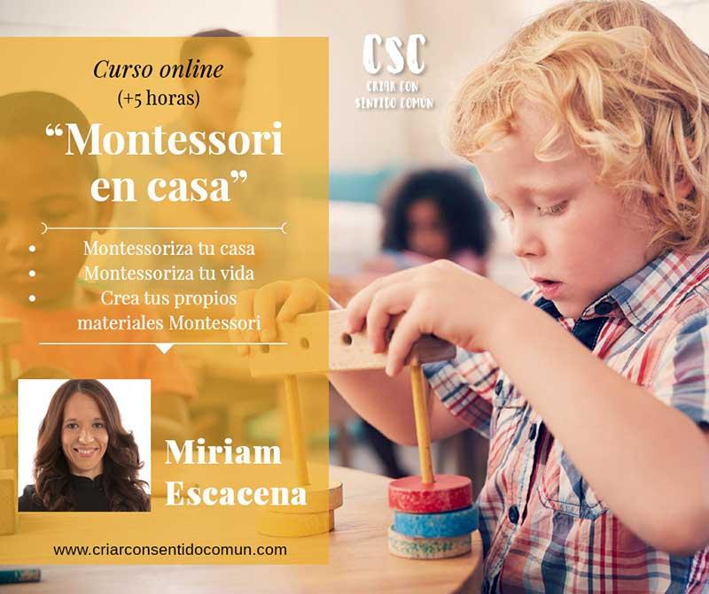 curso on line Montessori en casa