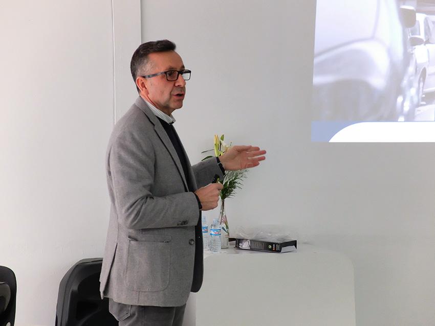 José Luis Viedma, coordinador educación vial DGT