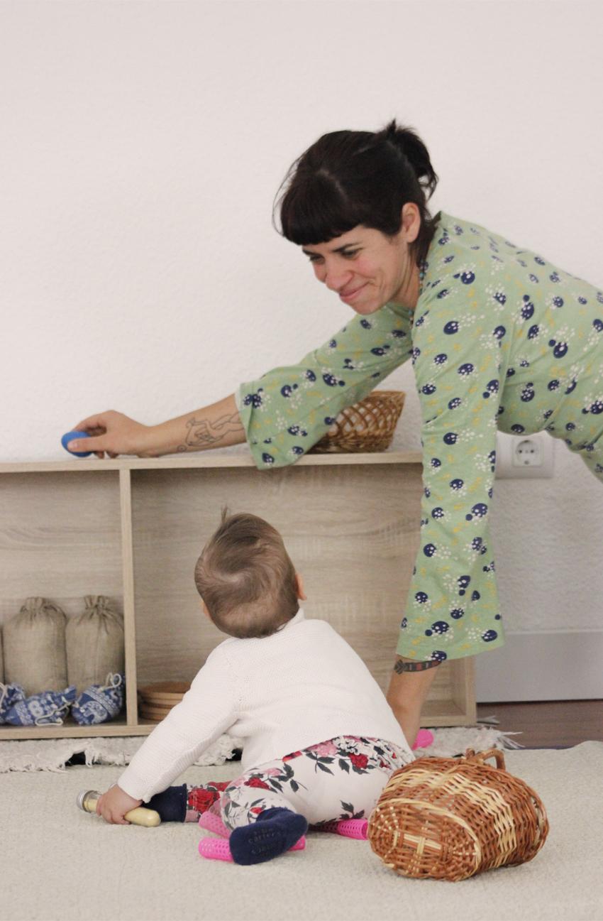 Flor Alonso guía Montessori