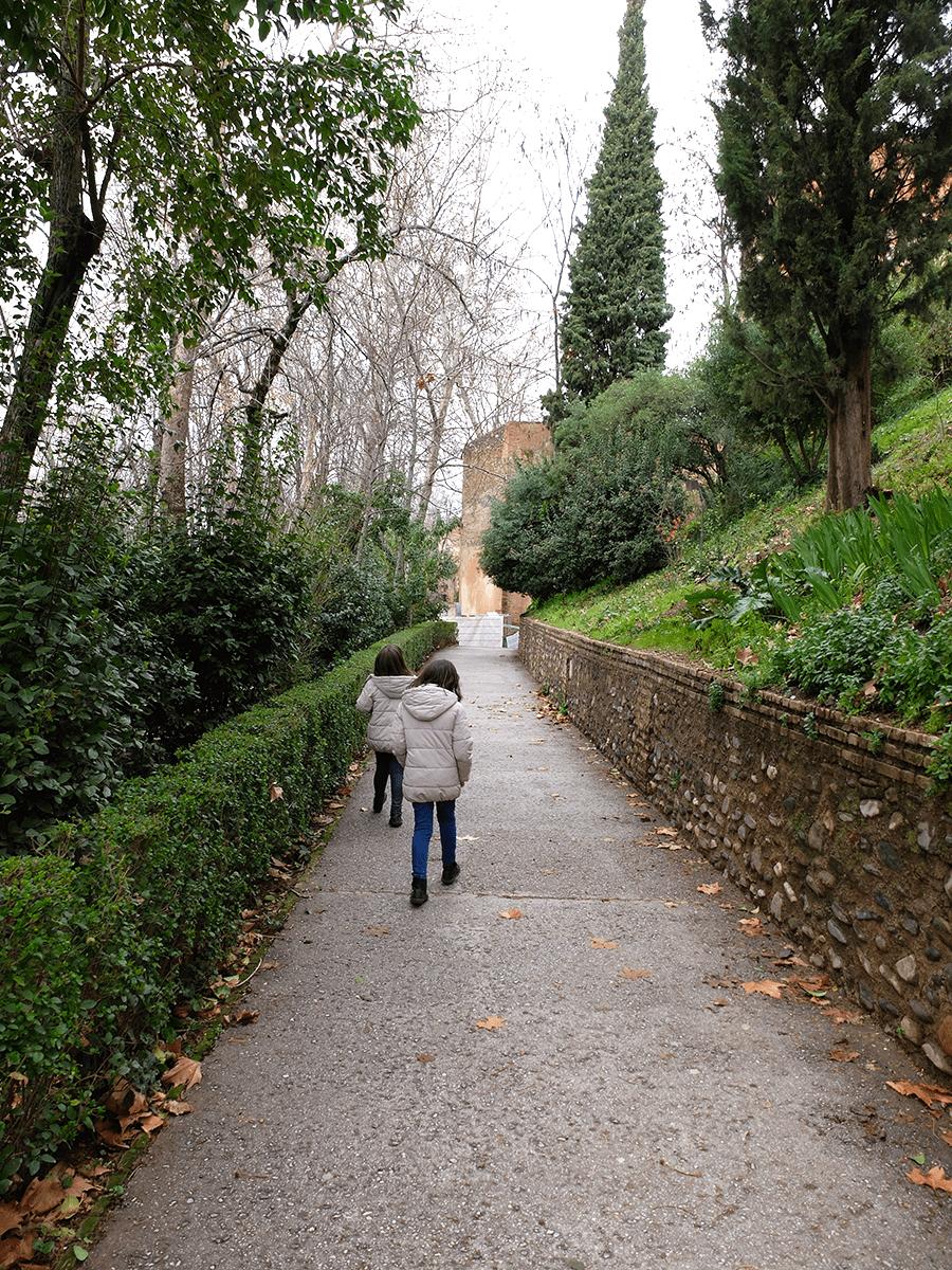 disfrutar la Alhambra en familia