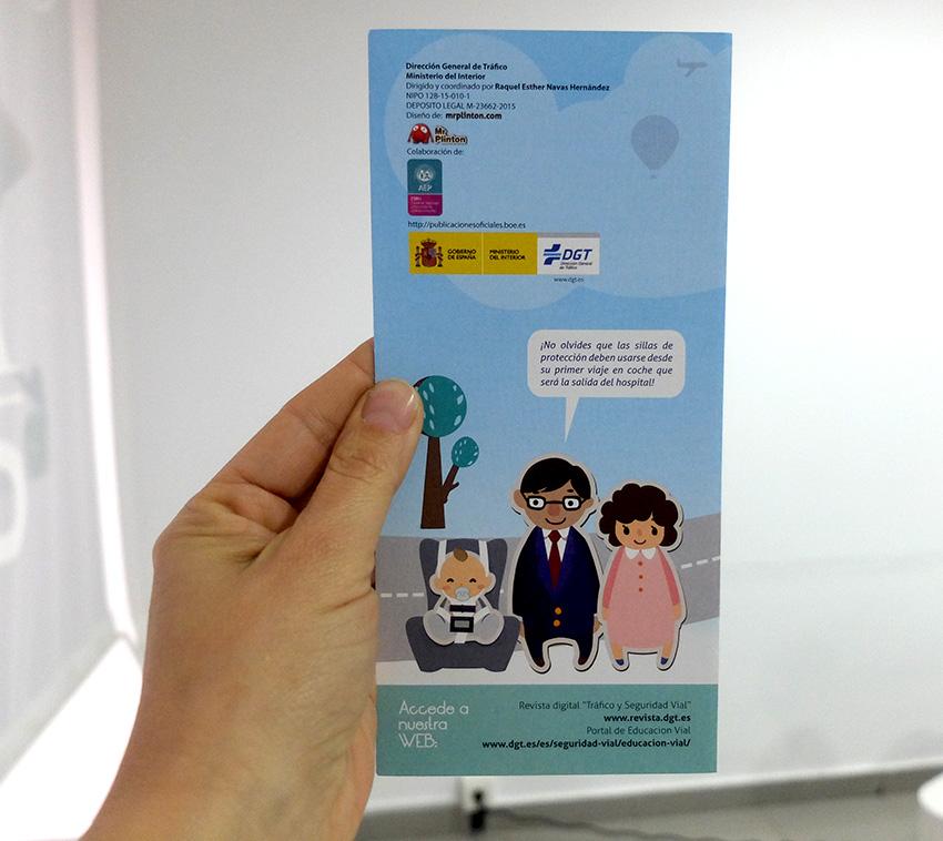 campaña informativa DGT seguridad infantil automovil