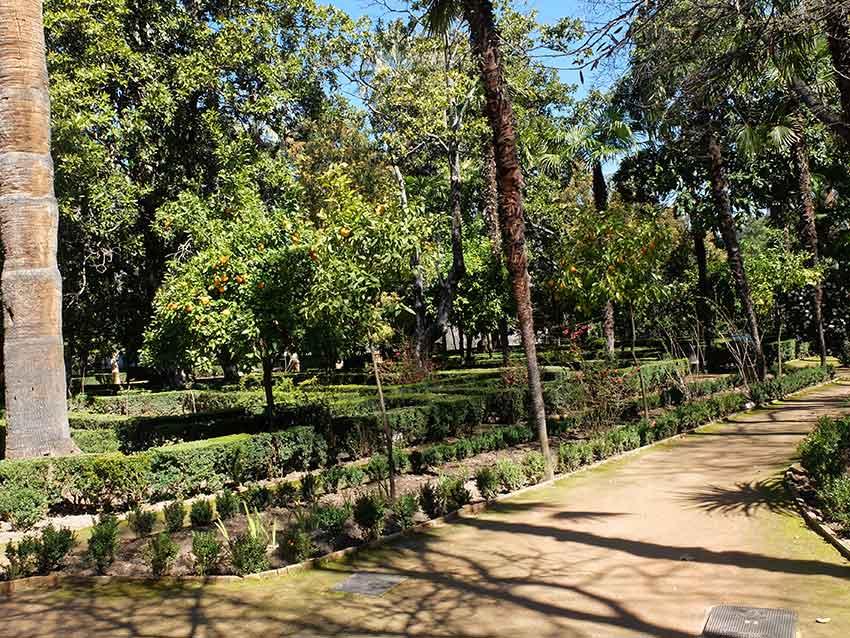 jardines Carmen de los Martires