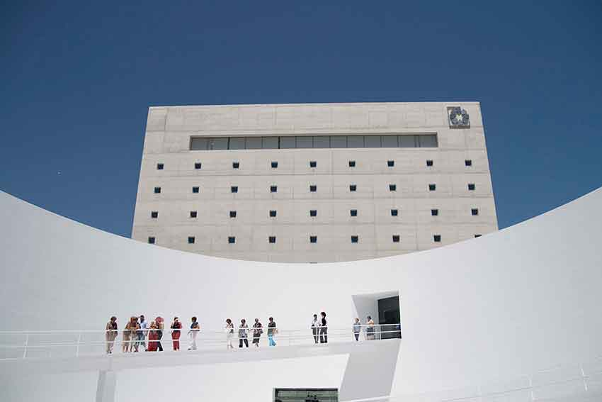 patio eliptico Museo Memoria de Andalucía