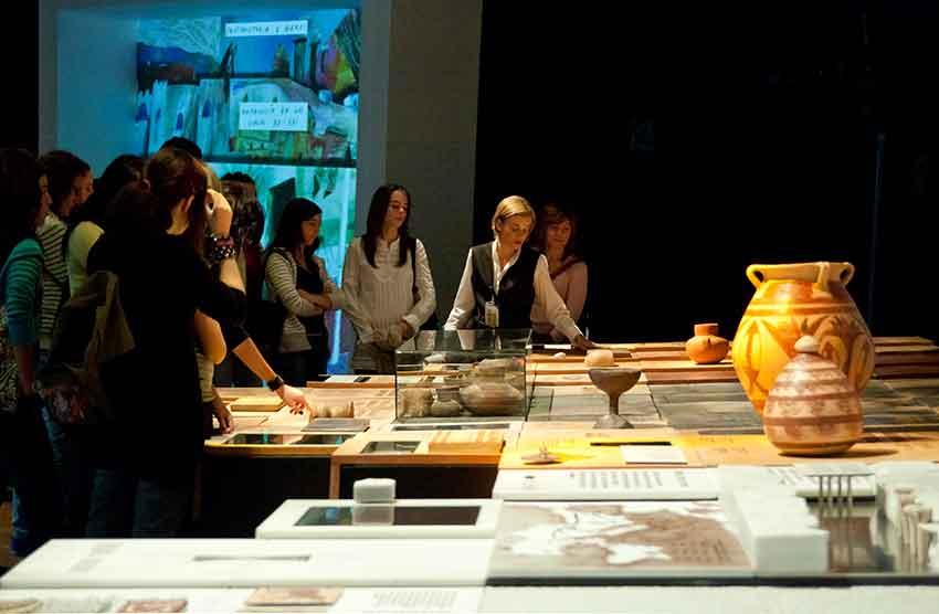 vistas escolares museos Granada