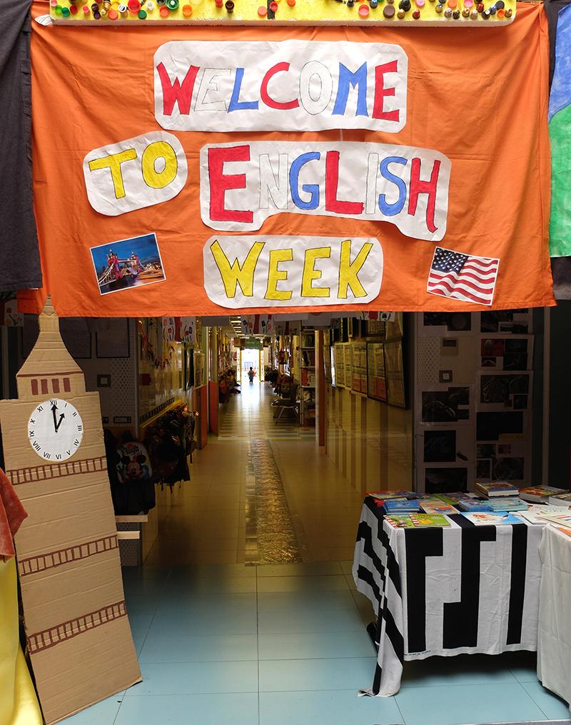 semana inglesa en Patosuca escuela infantil Granada