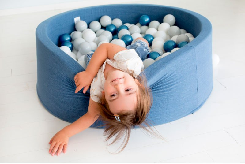 base flexible piscina de bolas para niños
