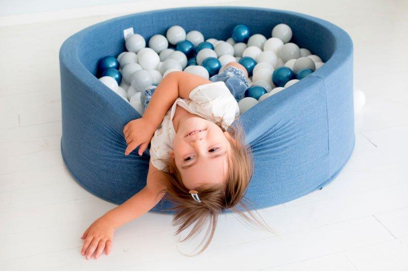 base flexible piscina de bolas para niños