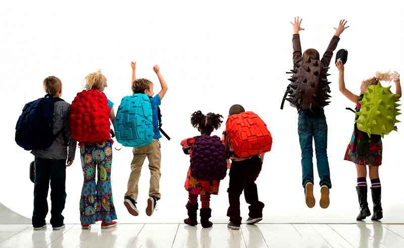 mochilas originales para niños