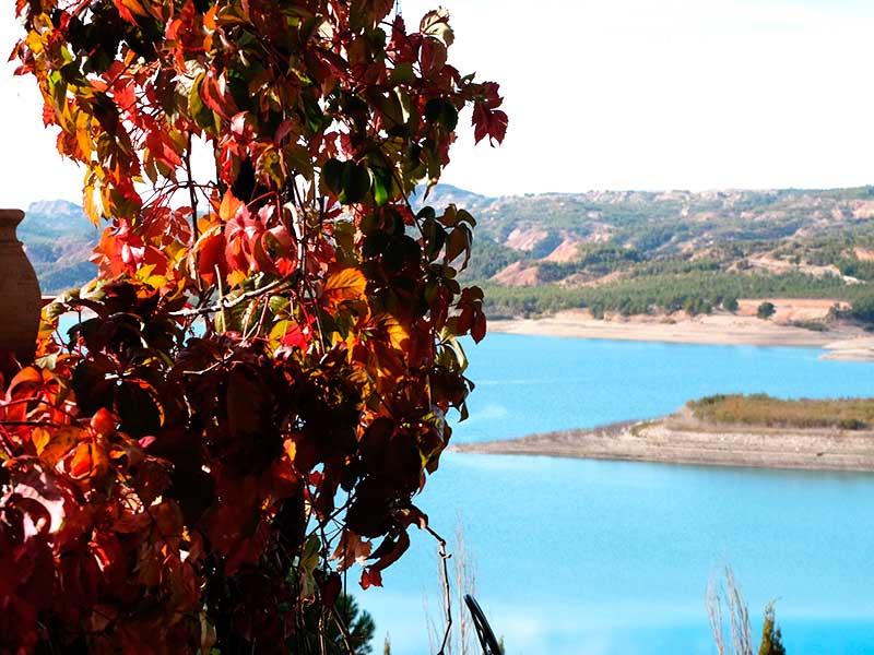 otoño en balneario Zújar