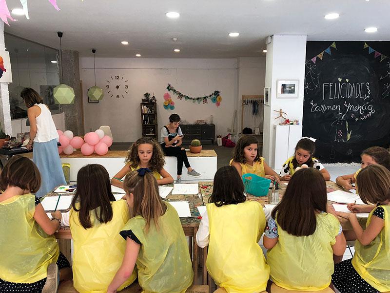 talleres de arte para niños Granada