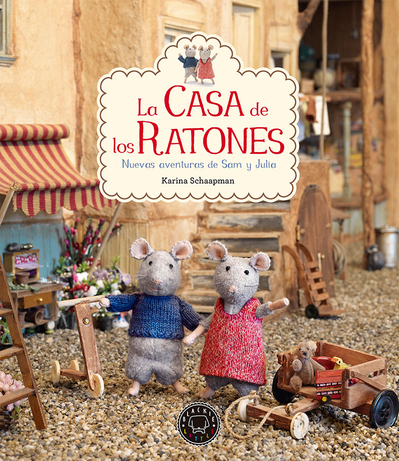 la casa de los ratones Blackie Little