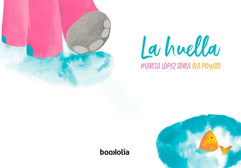 La huella, editorial Bookolia